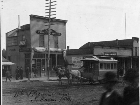 Tacoma's First Street Railway