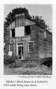 Meeker Blockhouse in Steilacoom