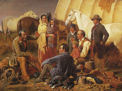Advice On The Prairie painted by William Tylee Ranney